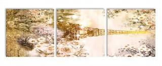 Модульная картина 35х110 N366