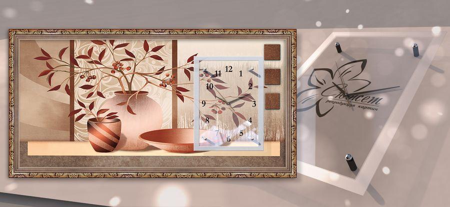 Модульные часы картины своими руками из 88