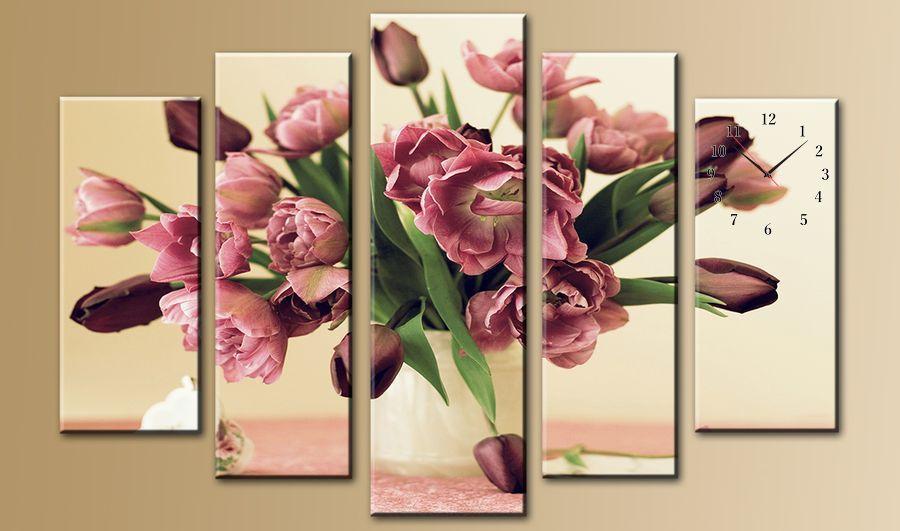 цветы фотопечать на холсте продукцию завода можно