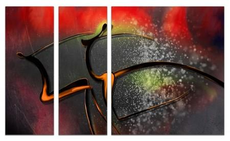 Модульные картины из 3х частей 80х140 VJ73