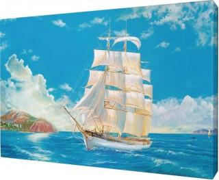 Картина на холсте 48х58 д196