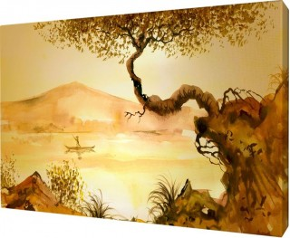 Картина на холсте 40х50 д923